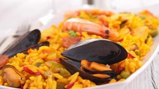 Club Naútico Los Nietos: Menú con entrante, arroz o caldero, postre y bebida