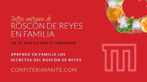 Confitería Maite: Taller Roscón de Reyes en familia