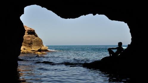 Travesía Kayak + expedición y baño en Cueva del Agua