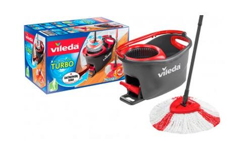 Set de fregona giratoria Vileda Easy Wring & Clean Turbo