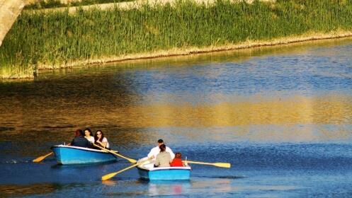 Paseo en barca por el Río Segura en Murcia