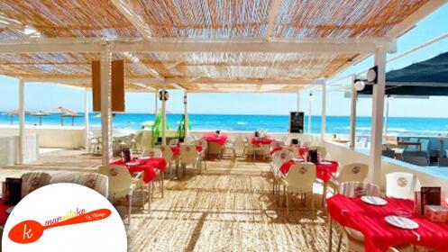 El mejor menú a pie de playa en Marmitako Beach La Manga