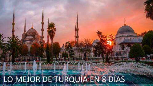Lo mejor de Turquía en 8 días