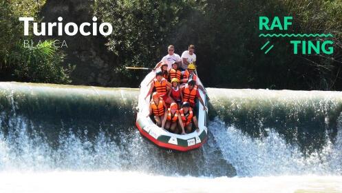 Rafting, reportaje fotográfico y almuerzo en el Valle de Ricote