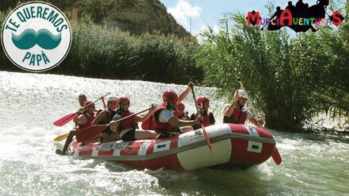 Rafting río Segura: 14 km de adrenalina en el Valle de Ricote