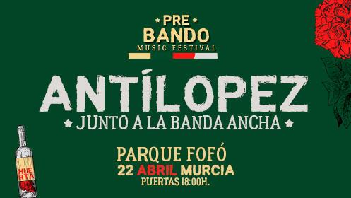 Antílopez y la Banda Ancha en Murcia (22 abril)