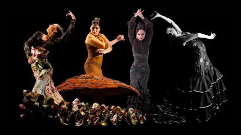 Dto. Cumbre Flamenca: Tacones Cercanos. 4 bailaoras murcianas (14 feb)