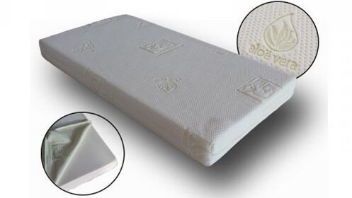 Colchón de cuna Aloe Vera