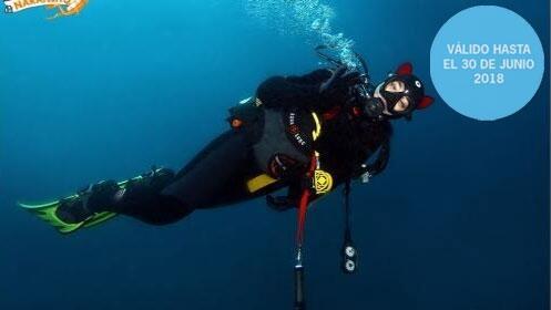 Curso open water diver buceador 1 estrella. ¡Hasta 18 metros!