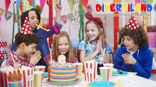 ¡Atención padres! Celebra el cumpleños de tus hijos en Divertiland