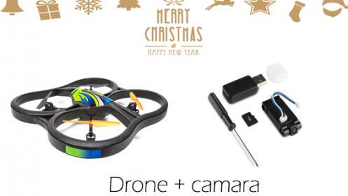 Big Drone 6 ejes+ Camara TANGO
