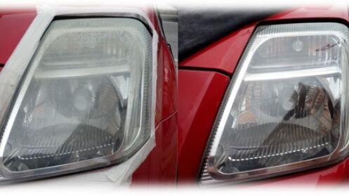 Faros como nuevos en Clean Car