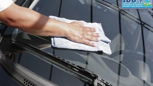 CC Atalayas: Lavado a mano interior y exterior