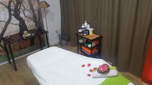 Masaje corporal relajante y presoterapia
