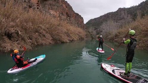 SUP o paddle surf en el río: escoge nivel ¡y a disfrutar!