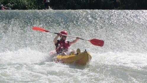 Descenso en Kayak individual y doble