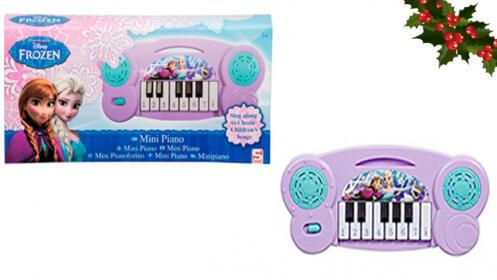 Mini piano Disney Frozen o Marvel Avengers