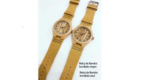 Reloj Bambú unisex
