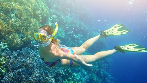 Cabo de Palos: Travesía kayak + snorkel