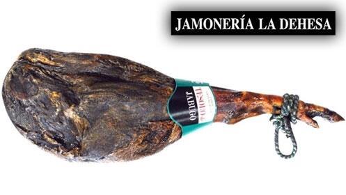 Jamón Tesoro de Jabugo Gran Reserva 7 kg + Botella de vino