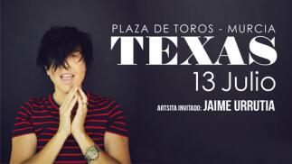 Entradas TEXAS en Murcia (13 jul)