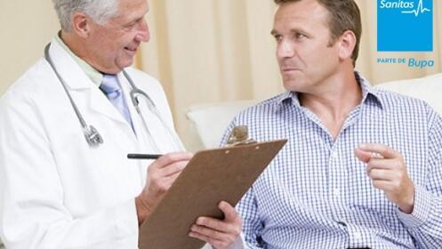 Descuento: revisión urológica
