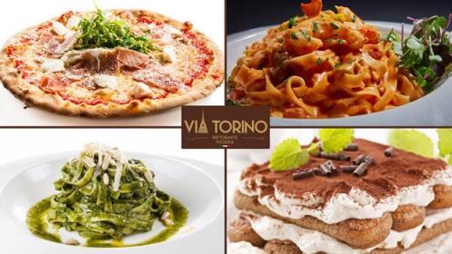Via Torino: auténtica cocina italiana