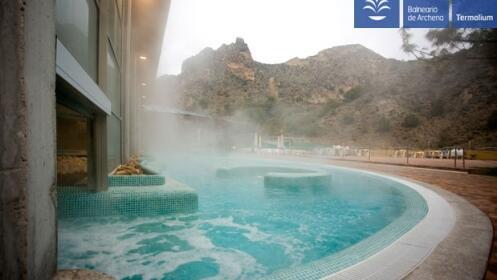 Balneario de archena spa piscinas termales por 5 for Piscina archena